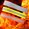 Flame Retardant Warning Reflective Tape for safety garments/overalls