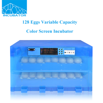 128 pcs 2017 New product Automatic Variable capacity Color screen Egg Incubator