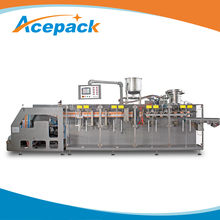 60ppm spout pouch filling full automatic yoghurt packing machine