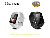 Smart Watch u8 WristWatch Wrist Wrap Watch Handsfreefor Phone 4/4S/5/5S Samsung S4/Note 2/Note 3HTC Android Smartphones