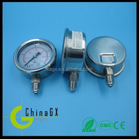 High quality air compressor pressure gauge