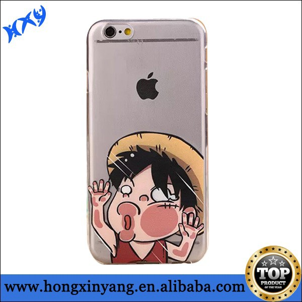 For iPhone 6 Lovely case Cute cartoon design hit the glass