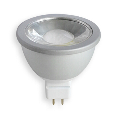 dimmable cob gu10 mr16 led down light 12v 6w light bulb