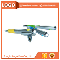 ball tip promotional ballpoint usb pen drive with led light