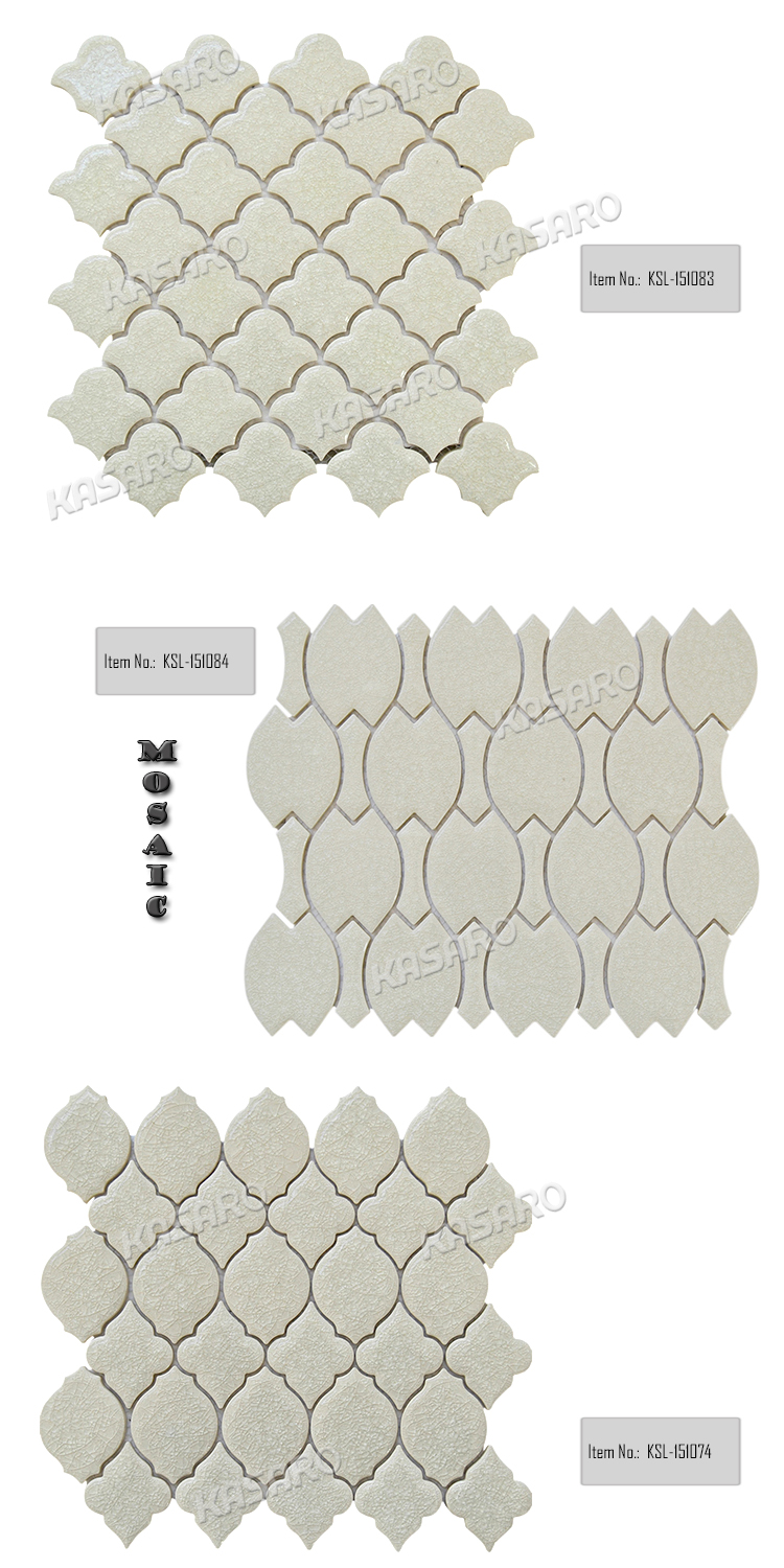 Irregular Shape Grays Ceramic Tiles for Exterior Wall