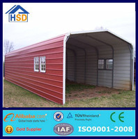 outdoor underground portable car parking shed steel frame canopy
