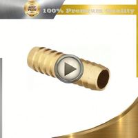 brass brass npt threaded hose barbs hose joint
