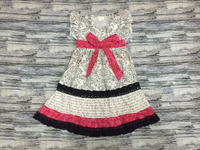 2016 new arrivals patterns baby dresses kids girls dresses for valentines day baby girl party dress ruffle
