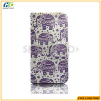Wholesale China Factory Painting Pu Leather Case For Wiko
