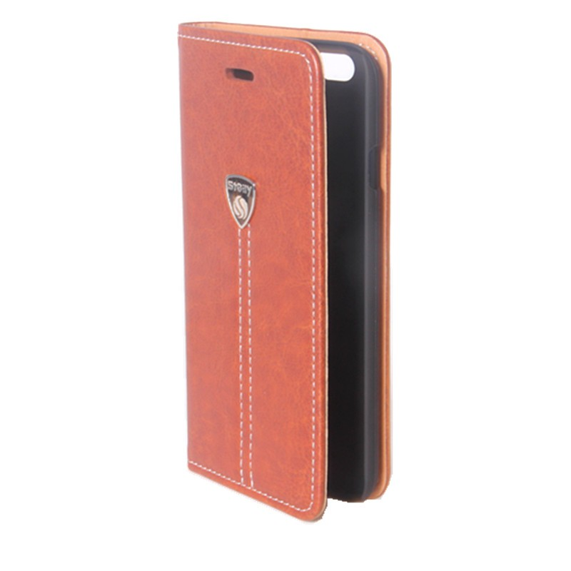 For iphone 6 Colorful Hand Strap Leather wallet phone case for iphone 6S Cell phone case