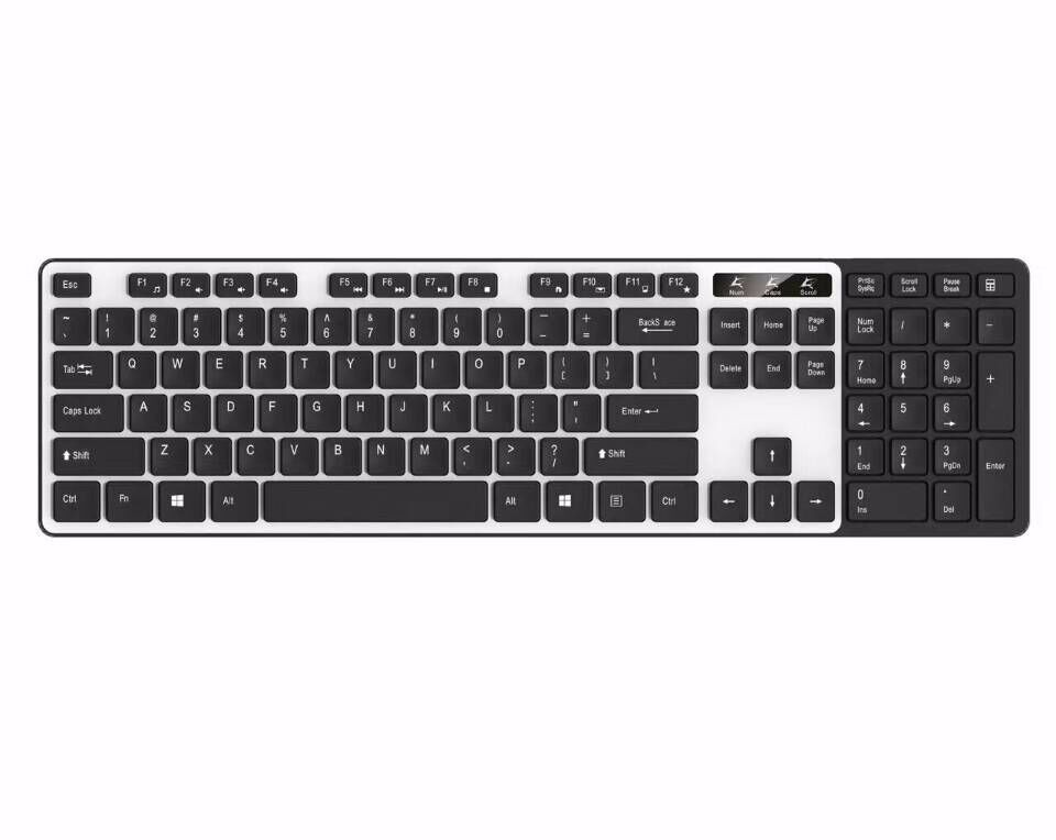 Multimedia slim fashion wired keyboard for Desktop Laptop