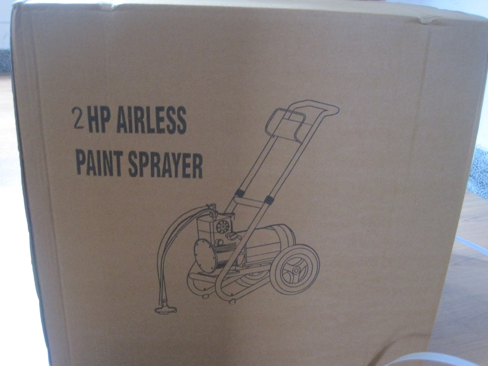 Airless paint sprayer DF330