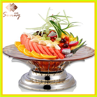 High-end Stainless Steel Fruit Plate For Restaurant