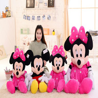 wholesale cheap Christmas Gift Valentine Day Gifts Plush Toys Mickey Minnie Mouse
