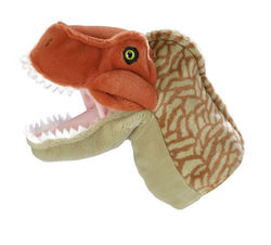 Soft Toys 71783 T Rex Tyrannasaurus dinosaur Hand puppet It has the markings of a scary dinosaur and ver soft to wear