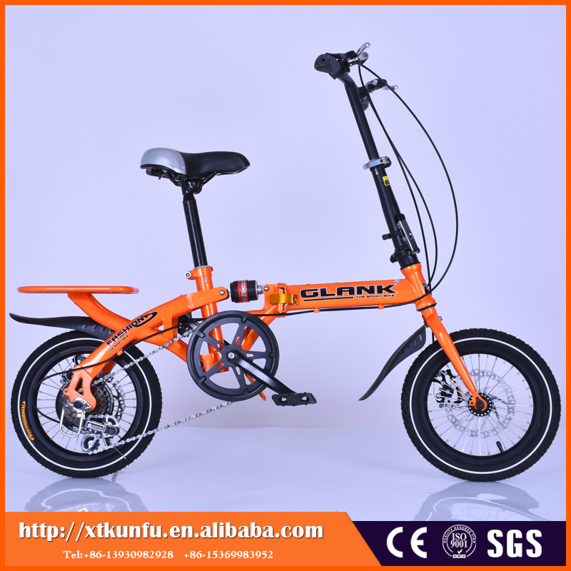 High quality alloy disc brake 6 gear folding bike cheap