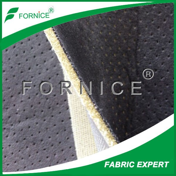 100% polyester of fabric car seat material