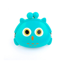 New arrival pretty silicone kids money pouch