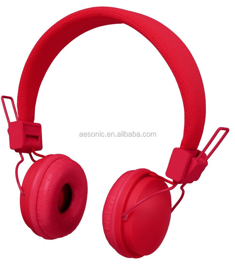 China Factory Best Selling OEM/ODM Full Printing Mobile Music Headsets With 3.5mm Round PVC Cable