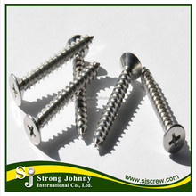 Top quality galvanized m6 self tapping screw type B metal screws in stock