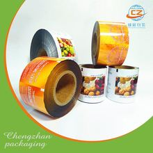 Food grade milk powder can food packaging roll film