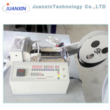 Hot Knife Automatic Webbing Belt Ribbon Tape Cutting Machine