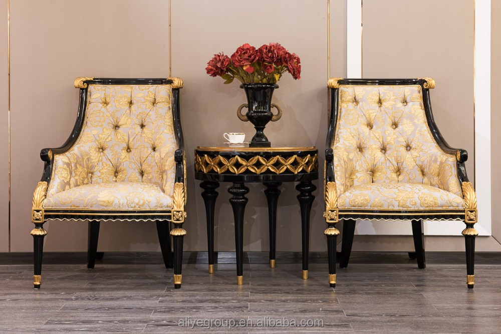 TX-133-classic style antique fabric armchair /french classical armchair