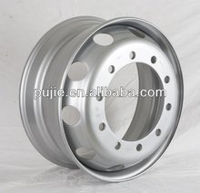 Advanced White Spoke Truck Wheels for Freightliner