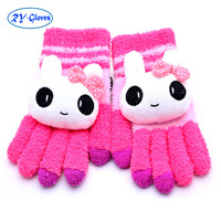 10pairs/box wholesale Daily Life Usage winter ladies touch screen magic hand knitting gloves for women