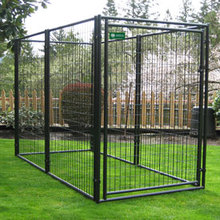 china iron pet kennel/large kennels for dogs