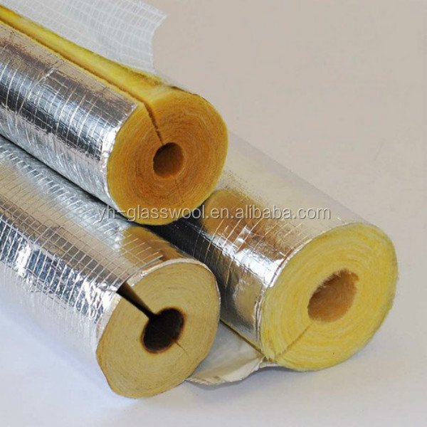 Fiberglass wool pipe insulation buy fiberglass wool pipe for Fiberglass thermal insulation