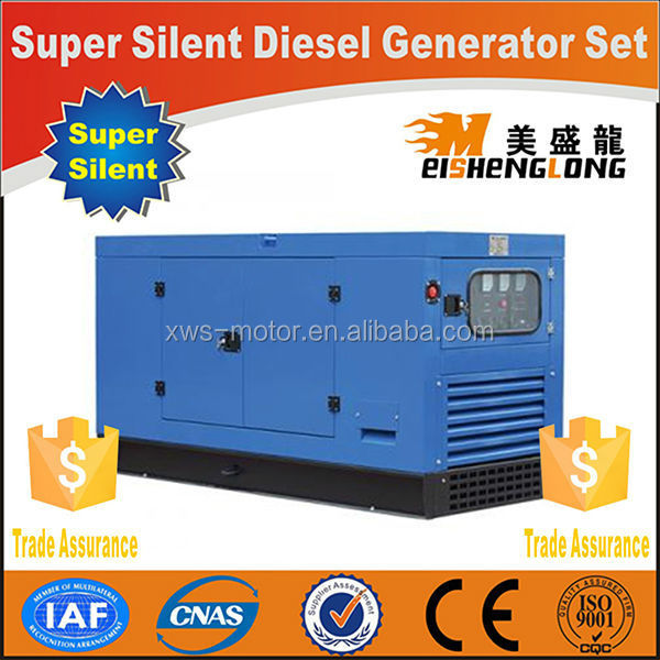 Diesel engine silent generator set genset CE ISO approved factory direct supply 10k generator