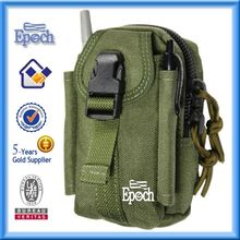 Back open pocket nylon shoulder bags for men