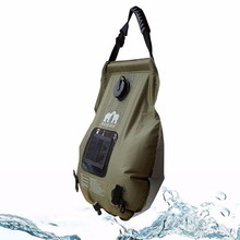 Great Selection for Holiday Hiking 20L Portable Outdoor Solar Camping Shower Bag Bladder