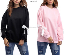 new design cheap 2 color special long sleeve women blouses autumn shirts