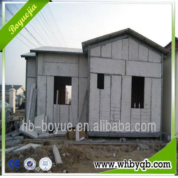 Fireproof lightweight exterior wall panels building for Exterior wall construction materials