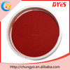 China manufacturer Acid Red 3BN leather dye colors suede dye