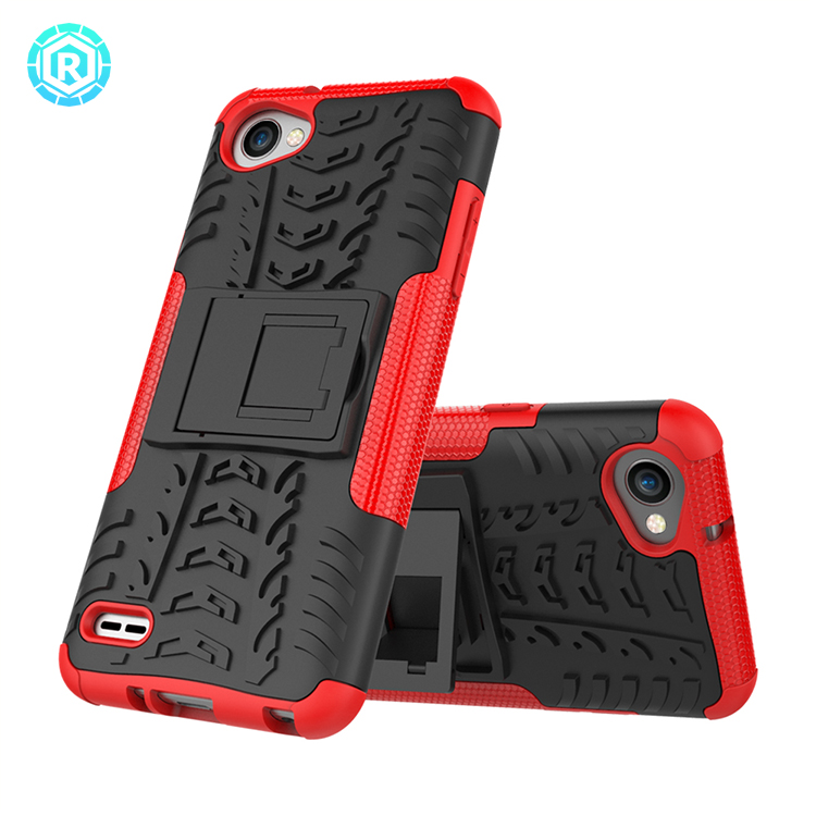 tough PC anti-shock hybrid case for LG Q6 cover case for LG Q6 back cover