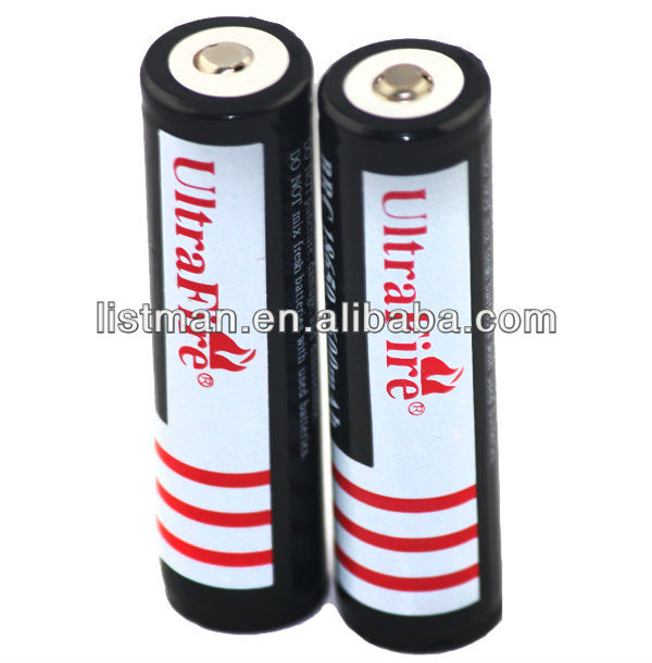 UltraFire 18650 3600mAh 3.7V Protected rechargeable Li-ion battery
