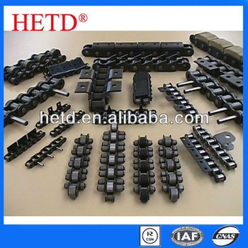 HETD High quality cast steel Hollow pin roller chain (short pitch)