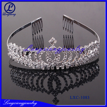 World Popular Double Flower Girl Crowns Tiara,Crowns And Tiaras,Tiaras And Crowns Cheap