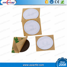 Waterproof RFID anti-metal sticker N-TAG215 label nfc tag for logistics goods tracking