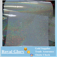 BOPP self adhesive transparent holographic film for lamination