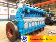 China 3000KW hfo generator set