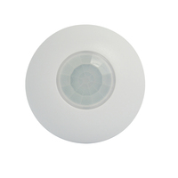 Indoor 360 degree ceiling type Mini PIR motion detector infrared sensor light switch NC NO output options Intruder alarm