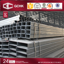 Manufacturer ERW galvanized steel hollow square bar / square tubing / rectangular steel tube with hollow section
