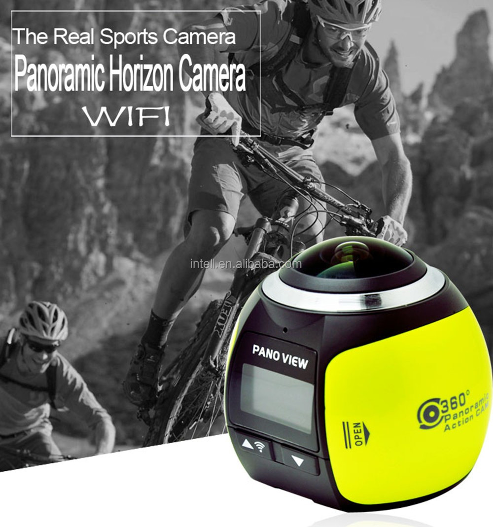 360 camera Wireless VR Action Waterproof Outdoor Sports DV Player 16MP 3D WiFi 4K 360 Panoramic Camera