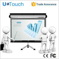 high quality 65'' 2 all in one/all in one touchscreen pc white/infrared sensor touch screen
