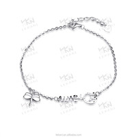 Factory direct sale 925 sterling silver jewelry,pure silver snake bracelet