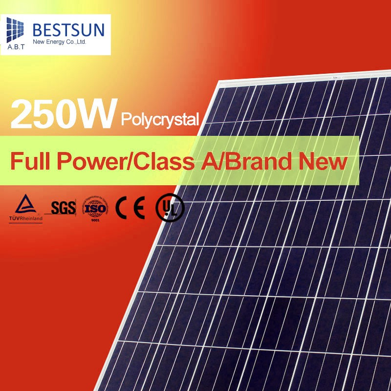 China manufacture PV solar panel Mono and Poly 100w 150w 200w 250w 260W 300w solar panel